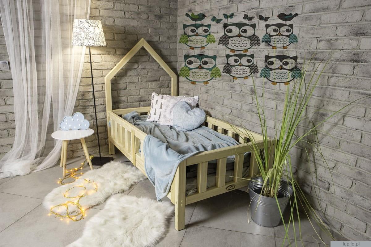 łóżko Dziecięce Domek Skandynawski 140x70 Cm